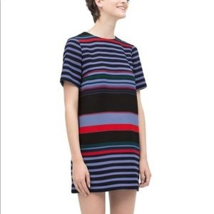 Zara Woman Striped Sheath Dress • Small